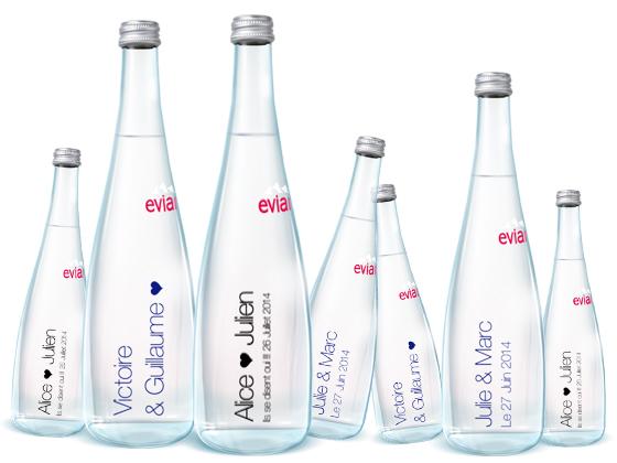 evian my evian personnalisation bouteille eau