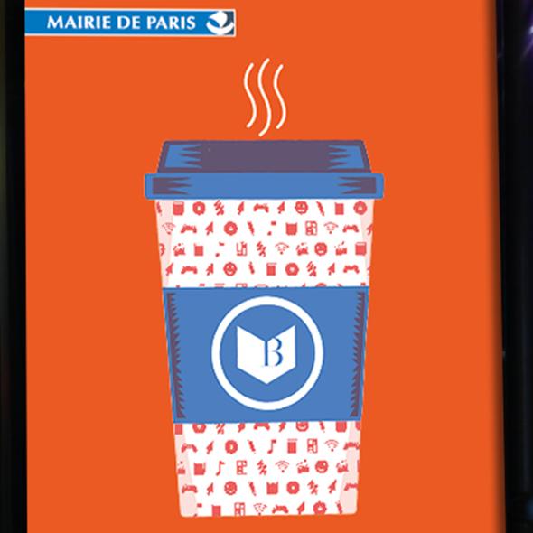 bibliothèque de paris campagne culture sur place ou a emporter