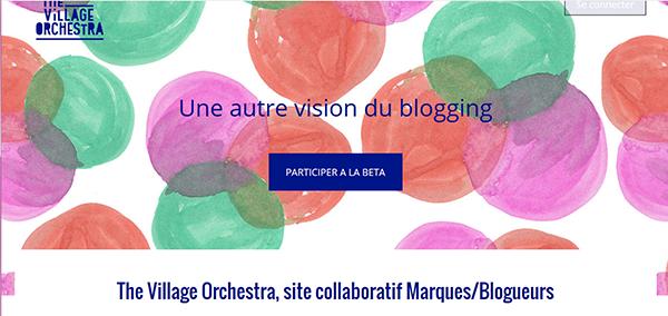 soirée TVO été blogueurs marques site web collaboratif the village orchestra
