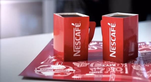 Nescafé-Pop-Up-Café-Tasse-origami