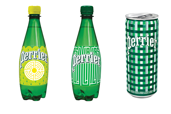 perrier inspired by street art nouveau packaging édition limitée l'atlas jules dedet
