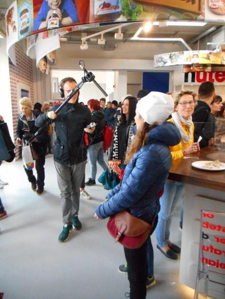 Nutella concept bar exposition universelle milano 2015