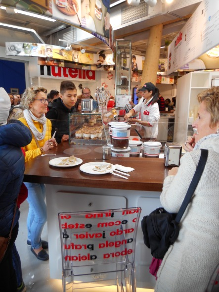 Nutella concept bar exposition universelle milano 2015