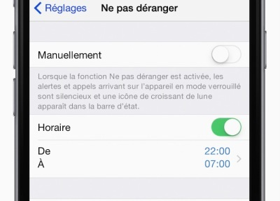 apple do not disturb tool