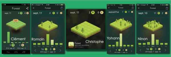 forest app digital detox