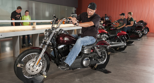 musée harley davidson Milwaukee usa moto museum