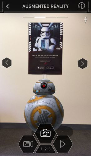 iphone-star wars app augmented reality