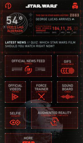 iphone dark side star wars app