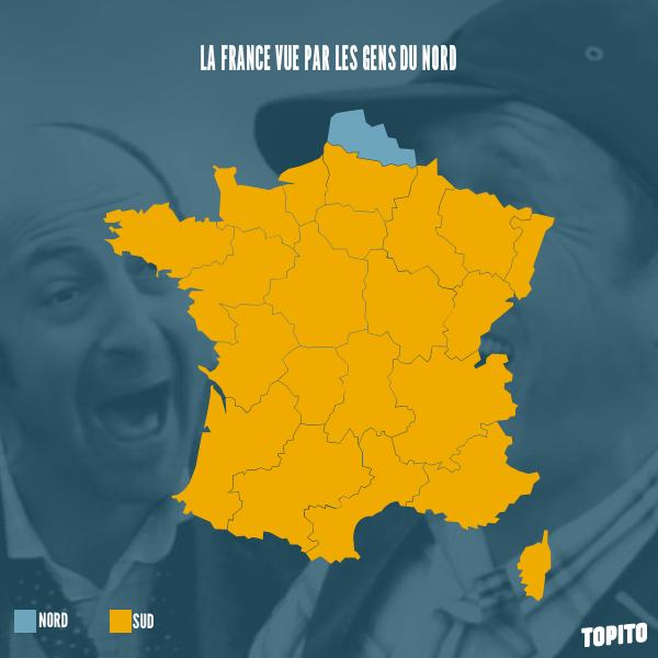 Carte_France_vue par les gens du nord insolite