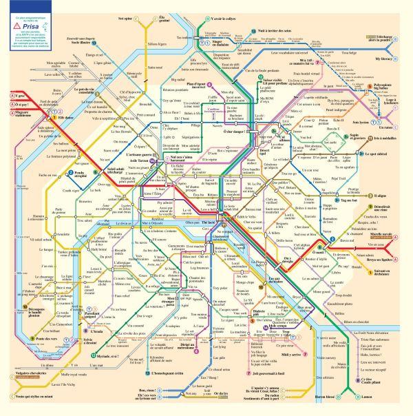 metro paris anagramme