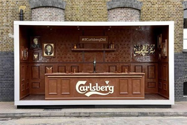 carlsberg-chocolate-bar pop up store paques easter marketing action event experientiel