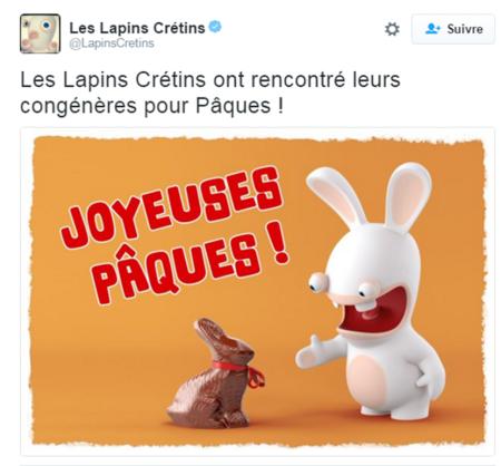 twitter lapins cretins