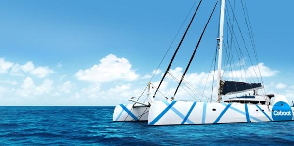 bateau coboat coworking connecté espace travail mer